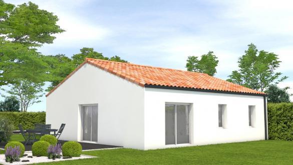 Maison+Terrain à vendre .(75 m²)(GRAND LANDES) avec (LMP CONSTRUCTEUR)