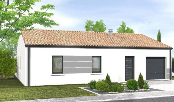 Maison+Terrain à vendre .(65 m²)(SAINT JEAN DE MONTS) avec (LMP CONSTRUCTEUR)