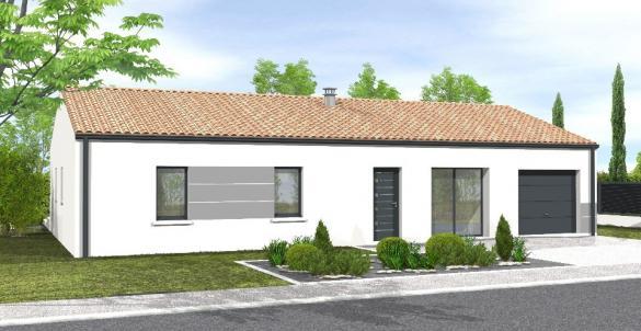 Maison+Terrain à vendre .(103 m²)(BOIS DE CENE) avec (LMP CONSTRUCTEUR)