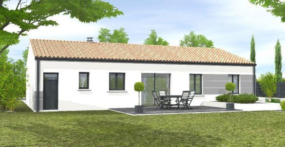 Maison+Terrain à vendre .(80 m²)(SAINT AVAUGOURD DES LANDES) avec (LMP CONSTRUCTEUR)