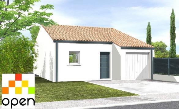 Maison+Terrain à vendre .(60 m²)(SAINT JULIEN DES LANDES) avec (LMP CONSTRUCTEUR)