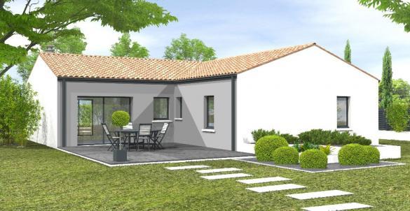 Maison+Terrain à vendre .(90 m²)(LA CHAIZE LE VICOMTE) avec (LMP CONSTRUCTEUR)