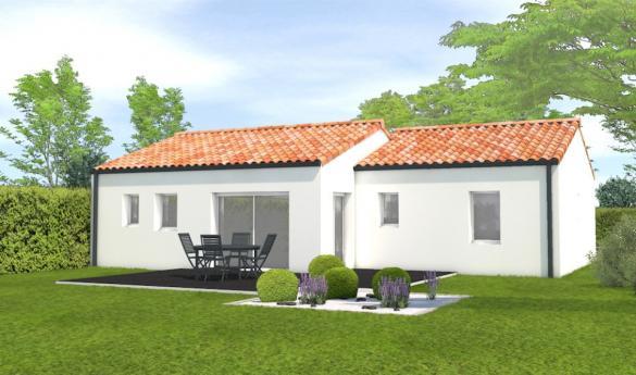 Maison+Terrain à vendre .(71 m²)(BEAUFOU) avec (LMP CONSTRUCTEUR)