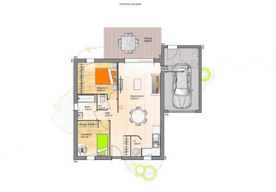 Maison+Terrain à vendre .(60 m²)(LA CHAIZE LE VICOMTE) avec (LMP CONSTRUCTEUR)