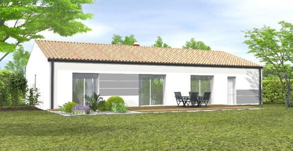 Maison+Terrain à vendre .(92 m²)(LA CHAIZE LE VICOMTE) avec (LMP CONSTRUCTEUR)