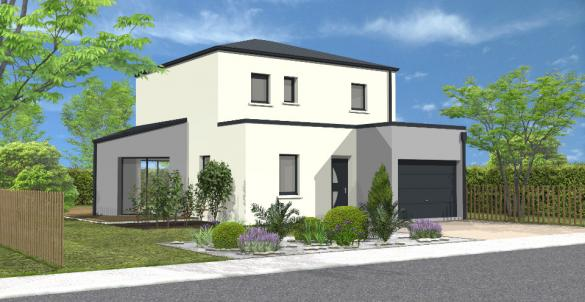 Maison+Terrain à vendre .(113 m²)(LAIROUX) avec (LMP CONSTRUCTEUR)