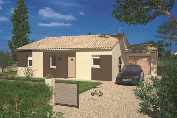 Maison+Terrain à vendre .(60 m²)(MOUZEUIL SAINT MARTIN) avec (LMP CONSTRUCTEUR)