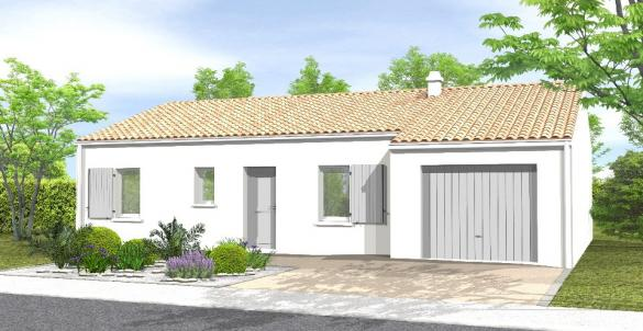 Maison+Terrain à vendre .(79 m²)(LA ROCHE SUR YON) avec (LMP CONSTRUCTEUR)