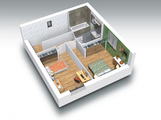 Maison+Terrain à vendre .(95 m²)(BELLEVILLE) avec (COMPAGNIE DE CONSTRUCTION)