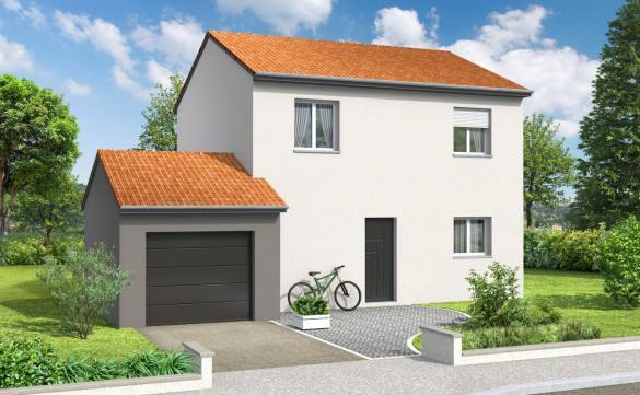 Maison+Terrain à vendre .(90 m²)(BELLEVILLE) avec (COMPAGNIE DE CONSTRUCTION)