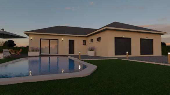 Maison+Terrain à vendre .(95 m²)(VOIRON) avec (COMPAGNIE DE CONSTRUCTION)