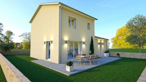 Maison+Terrain à vendre .(90 m²)(BOURG EN BRESSE) avec (COMPAGNIE DE CONSTRUCTION)