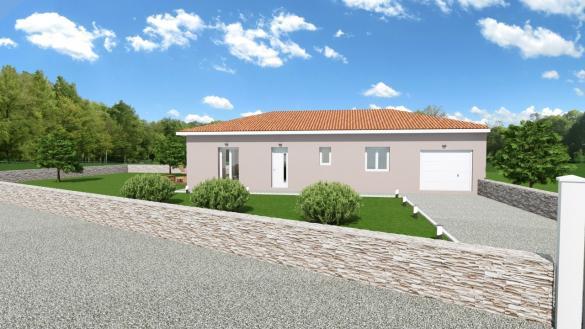 Maison+Terrain à vendre .(95 m²)(MEZERIAT) avec (COMPAGNIE DE CONSTRUCTION)
