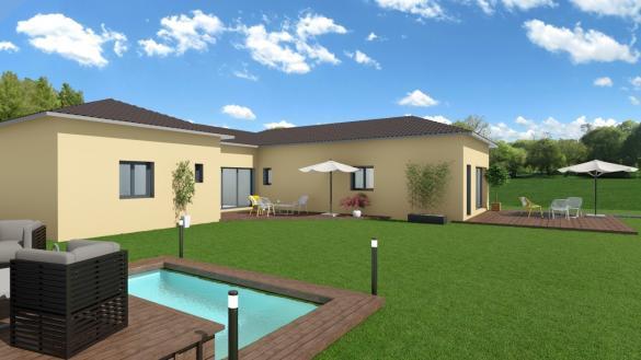 Maison+Terrain à vendre .(95 m²)(VILLARS LES DOMBES) avec (COMPAGNIE DE CONSTRUCTION)