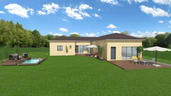 Maison+Terrain à vendre .(100 m²)(MACON) avec (COMPAGNIE DE CONSTRUCTION)