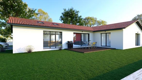 Maison+Terrain à vendre .(90 m²)(LAGNIEU) avec (COMPAGNIE DE CONSTRUCTION)