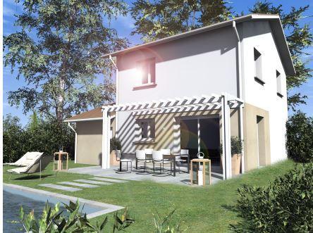 Maison à vendre .(90 m²)(VOIRON) avec (TRADICONFORT 38)
