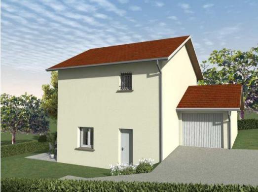 Maison à vendre .(90 m²)(POLIENAS) avec (TRADICONFORT 38)