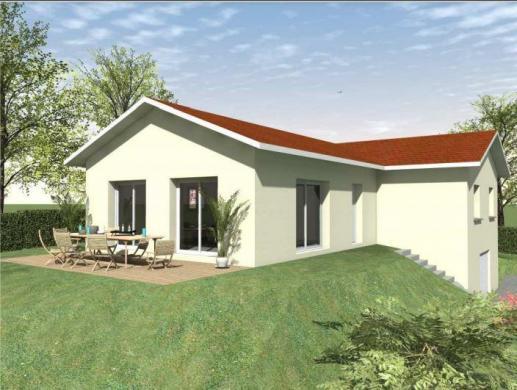 Maison à vendre .(101 m²)(CHANTESSE) avec (TRADICONFORT 38)