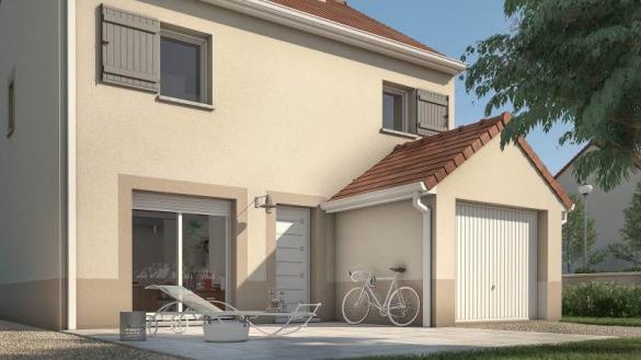 Maison+Terrain à vendre .(83 m²)(SAINT CHERON) avec (MAISONS FRANCE CONFORT)