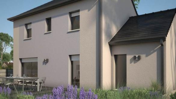 Maison+Terrain à vendre .(90 m²)(BREUILLET) avec (MAISONS FRANCE CONFORT)