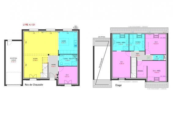 Maison à vendre .(131 m²)(CERGY) avec (MAISONS PIERRE  BEAUVAIS)