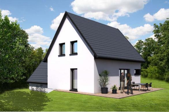 Maison à vendre .(106 m²)(WAHLBACH) avec (BATIGE)
