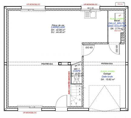 Maison+Terrain à vendre .(85 m²)(SOLIERS) avec (Maisons Axcess)