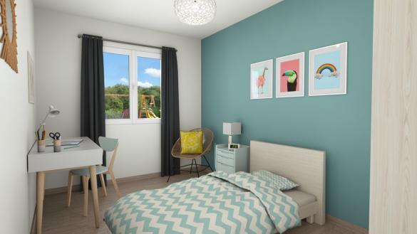 Maison+Terrain à vendre .(87 m²)(SURVILLE) avec (Maisons Axcess)