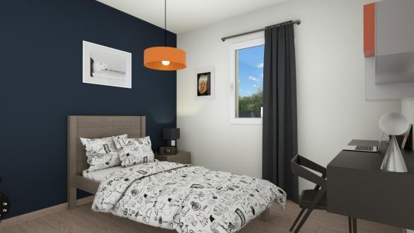 Maison+Terrain à vendre .(85 m²)(SAINT JULIEN LE FAUCON) avec (Maisons Axcess)