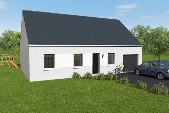 Maison+Terrain à vendre .(70 m²)(SAINT POIS) avec (Maisons Axcess)