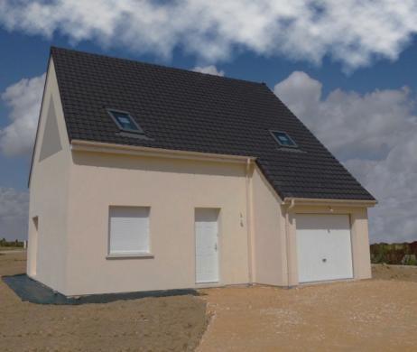 Maison+Terrain à vendre .(85 m²)(LE MOLAY LITTRY) avec (Maisons Axcess)
