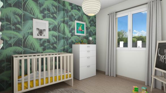 Maison+Terrain à vendre .(87 m²)(YVETOT) avec (Maisons Axcess)