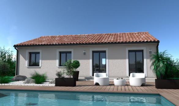 Maison+Terrain à vendre .(80 m²)(LISLE SUR TARN) avec (OC RESIDENCES - GAILLAC)