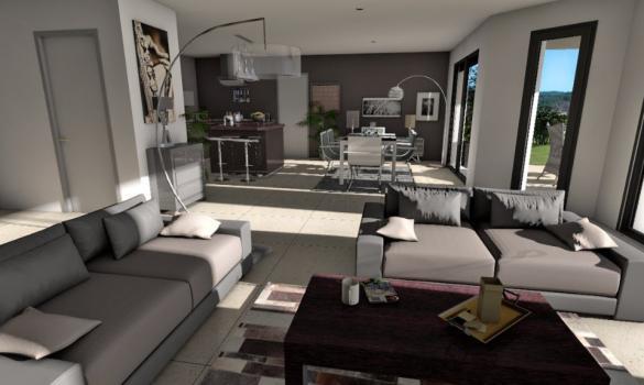 Maison+Terrain à vendre .(109 m²)(TECOU) avec (OC RESIDENCES - GAILLAC)