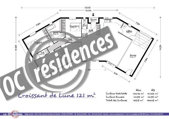Maison+Terrain à vendre .(121 m²)(GAILLAC) avec (OC RESIDENCES - GAILLAC)