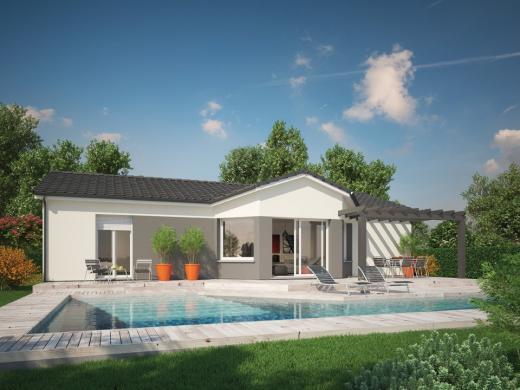 Maison+Terrain à vendre .(101 m²)(CARCANS) avec (Maisons MCA Carcans)