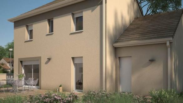 Maison+Terrain à vendre .(90 m²)(MONTACHER VILLEGARDIN) avec (MAISONS FRANCE CONFORT)