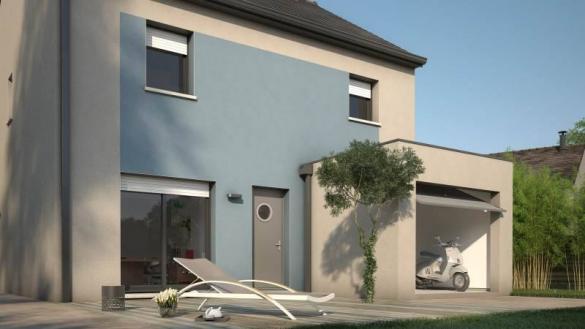 Maison+Terrain à vendre .(83 m²)(ITTEVILLE) avec (MAISONS BALENCY)