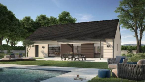 Maison+Terrain à vendre .(92 m²)(SAINT SULPICE DE FAVIERES) avec (MAISONS BALENCY)