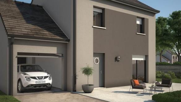 Maison+Terrain à vendre .(81 m²)(CERNY) avec (MAISONS BALENCY)