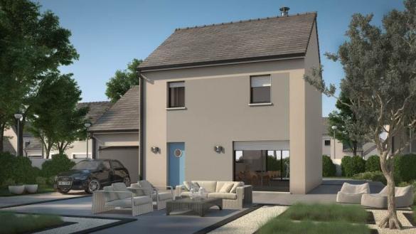 Maison+Terrain à vendre .(91 m²)(SAINT VRAIN) avec (MAISONS BALENCY)