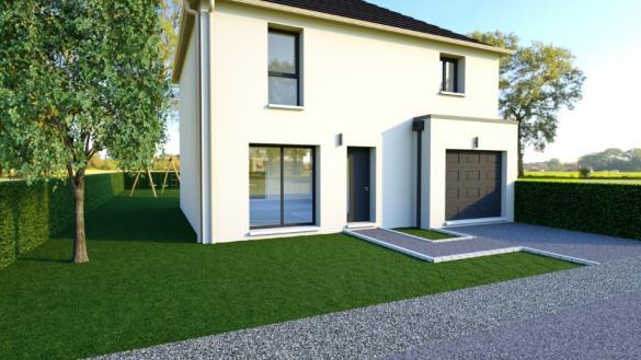 Maison+Terrain à vendre .(103 m²)(SAINT VRAIN) avec (MAISONS BALENCY)