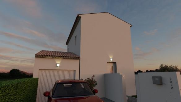 Maison+Terrain à vendre .(70 m²)(MONTELIMAR) avec (MAISONS BIOXIA)