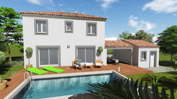 Maison+Terrain à vendre .(80 m²)(MONTELIMAR) avec (MAISONS BIOXIA)