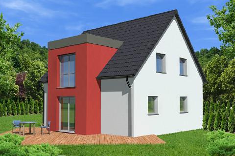 Maison à vendre .(115 m²)(WISSEMBOURG) avec (ALSAMAISON)