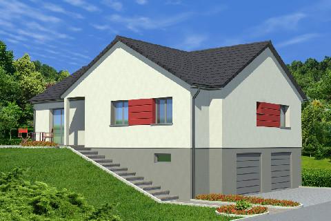 Maison à vendre .(107 m²)(SAVERNE) avec (ALSAMAISON)