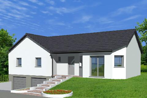 Maison à vendre .(96 m²)(GUNDERSHOFFEN) avec (ALSAMAISON)