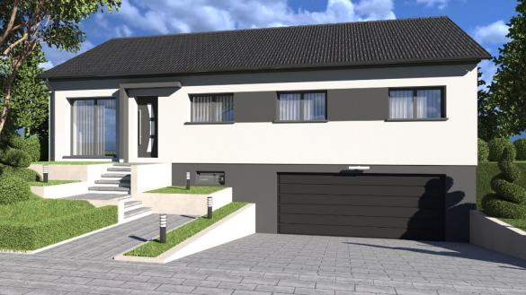 Maison à vendre .(87 m²)(VASPERVILLER) avec (ALSAMAISON)