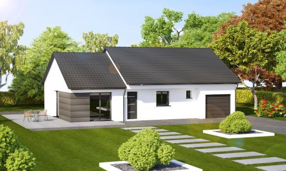 Maison à vendre .(90 m²)(THIONVILLE) avec (ALSAMAISON)